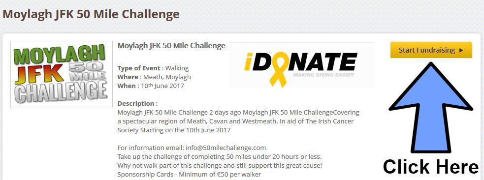 50 Mile Challenge Register NowMoylagh 50 Mile Challenge